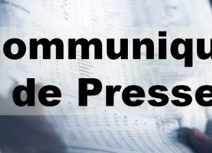 communiqué de presse mai 2020